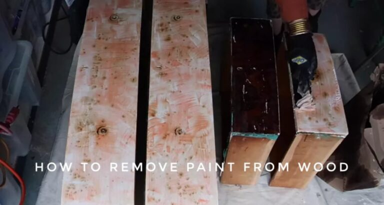 How to Remove Paint from Wood Furniture?