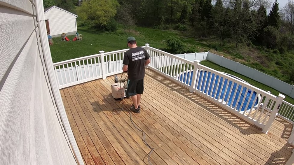 How To Sand A Deck With A Drum Sander?